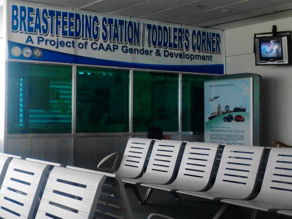 Breastfeeding station. Davao
